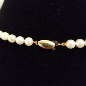 Pearl Jewelry - Freshwater Pearl Necklace 14K
